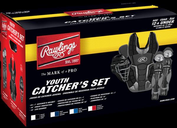 RCSNY Renegade 2 Youth Catcher Set black