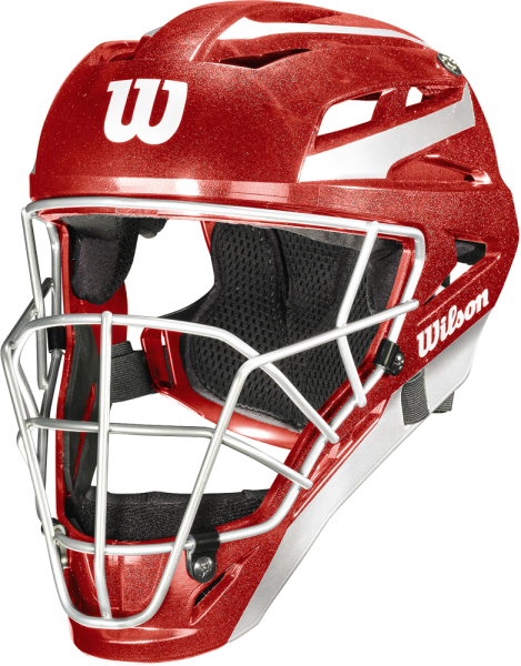 WTA5700 Pro Stock Catcher's Helmet L/XL scarlet