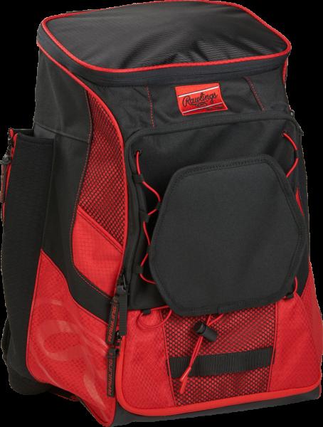 R600 Player Back Pack scarlet