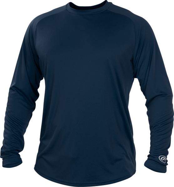 YLSRT Youth Longsleeve Performance Shirt navy