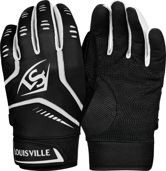 WTL6103 Omaha YOUTH Batting Glove Pair black