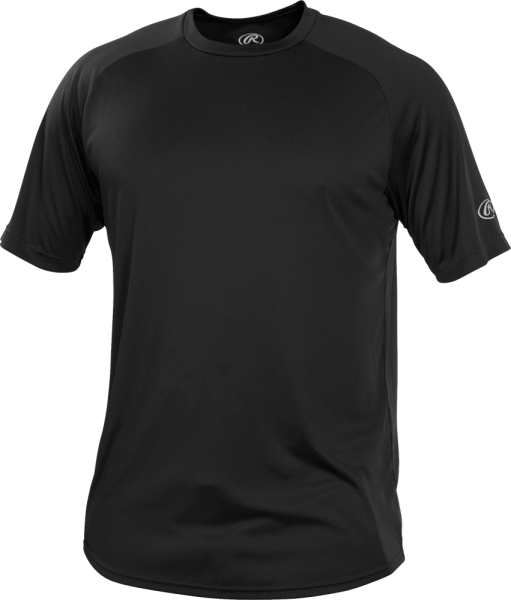 RTT Adult Shortsleeve Performance Shirt black