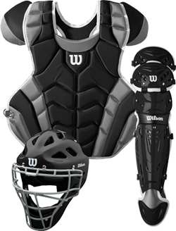 WTA4601 C1K Adult Catcher Set black