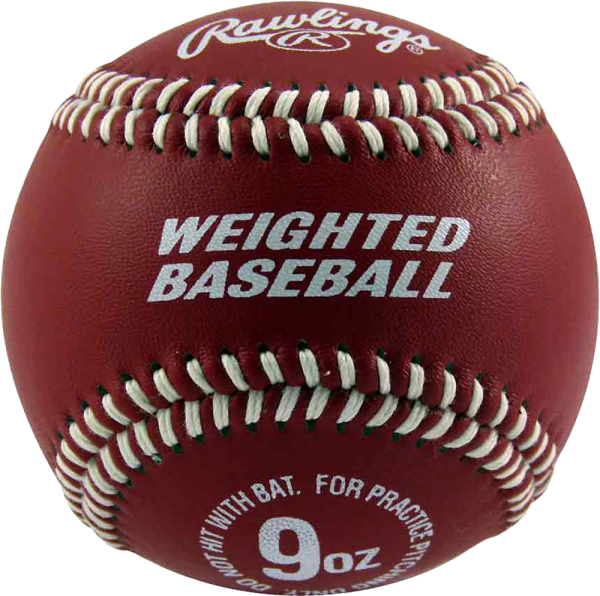 Weighted Baseball 9 oz