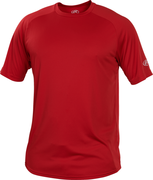 YRTT Youth Shortsleeve Performance Shirt scarlet