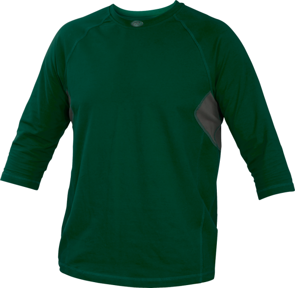 YRS34 Runner Youth Performance Undershirt dark green