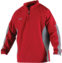 Breakr Quarter Zip Jacket scarlet