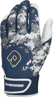 WTD6113 Digi Camo Adult Batting Glove Pair navy