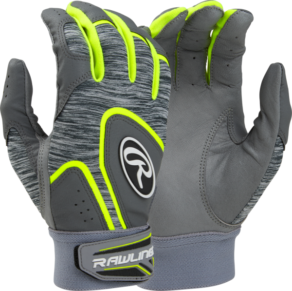 5150GBG Adult Batting Glove Pair optic yellow