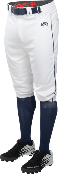 LNCHKPP Adult Launch Piped Knicker Pant white/navy