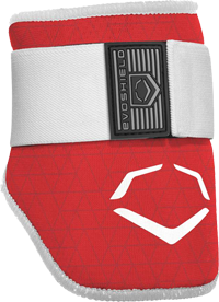 WTV6100 EvoCharge Adult Elbow Guard red