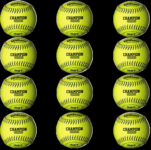 Softball WTA9033BUSSFPYB dozen