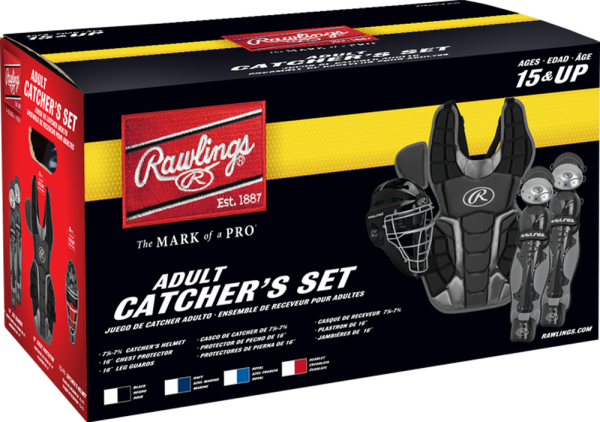 RCSNA Renegade 2 Adult Catcher Set scarlet