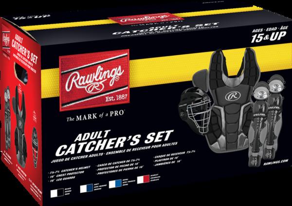 RCSNA Renegade 2 Adult Catcher Set scarlet