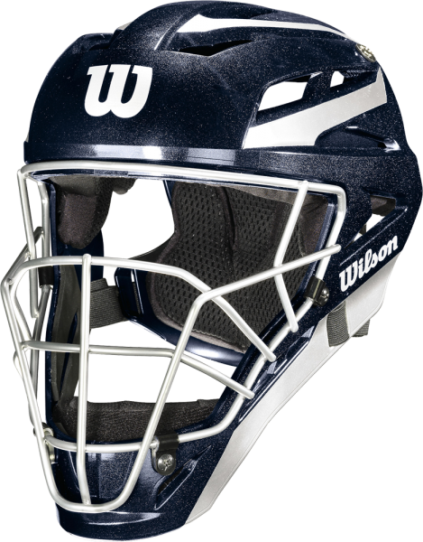 WTA5700 Pro Stock Catcher's Helmet L/XL navy