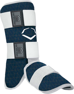 WTV1100 EvoCharge Adult Batter Legguard navy