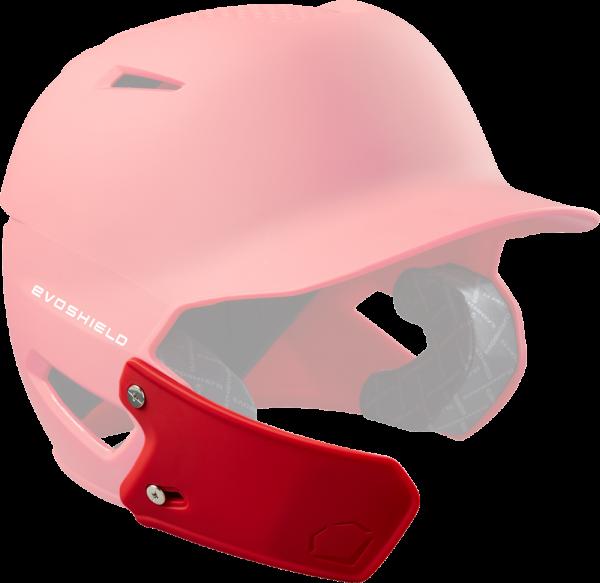 WTV7305 XVT Helmet Extension LHH Left Handed Hitter scarlet