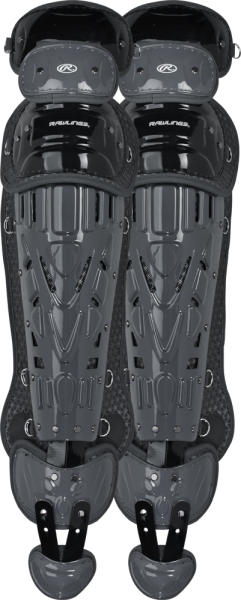 LGVEL Velo Adult Legguards black/graphite