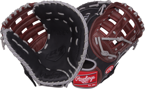 R9 R9FM18BSG Baseball First Base Mitt