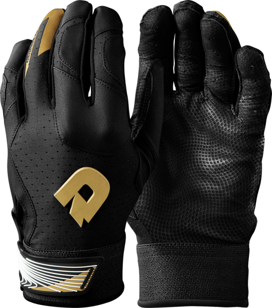 WTD6114 CF Adult Batting Glove Pair black