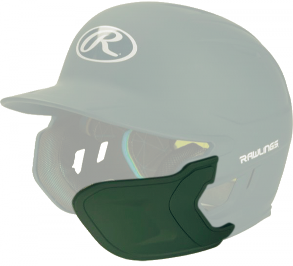 REXT-R Helmet Extension Right Handed Batter dark green