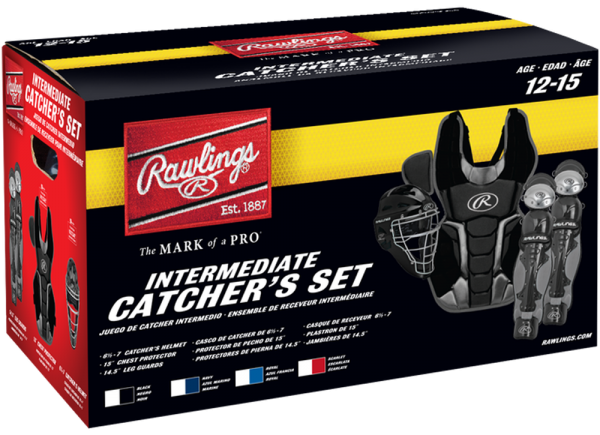 RCSNI Renegade 2 Intermediate Catcher Set scarlet