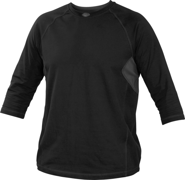 YRS34 Runner Youth Performance Undershirt black