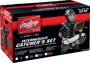 RCSI Renegade Intermediate Catcher Set scarlet