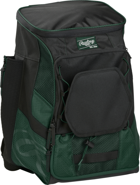 R600 Player Back Pack dark green
