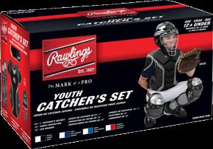 RCSY Renegade Youth Catcher Set black