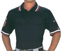Pro Style Umpire Polo Shirt Navy