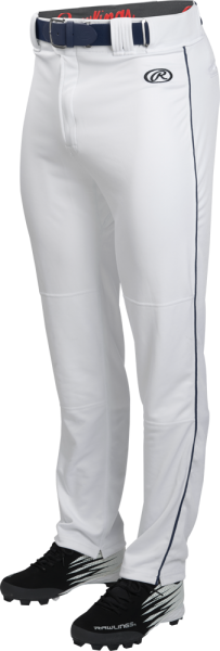 LNCHSRP Adult Launch Piped Baggy Pant white/navy