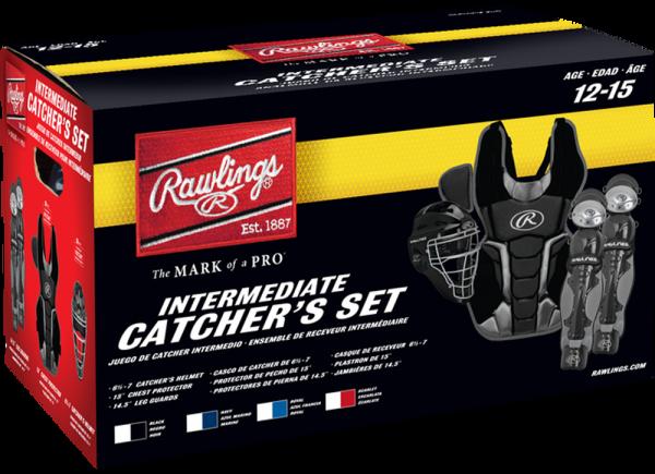 RCSNI Renegade 2 Intermediate Catcher Set black
