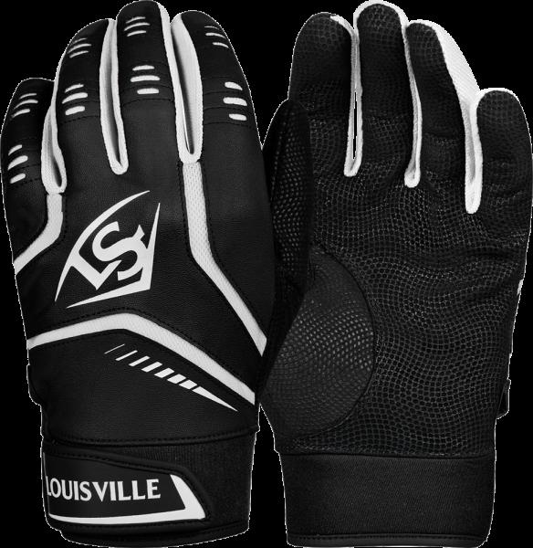 WTL6103 Omaha Adult Batting Glove Pair black