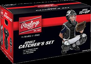 RCSA Renegade Adult Catcher Set black