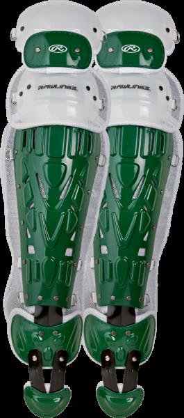 LGVEL Velo Adult Legguards dark green/white