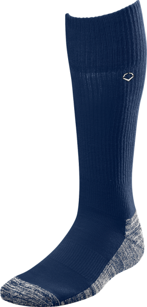 WTV4446 Solid Color Game Socks navy