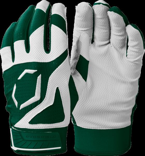 SRZ1 WB5712002 Adult Batting Glove Pair dark green