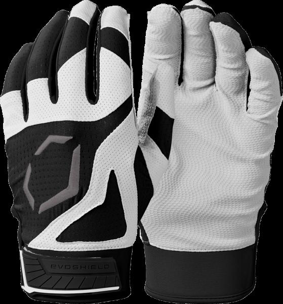 SRZ1 WB5712101 Youth Batting Glove Pair black