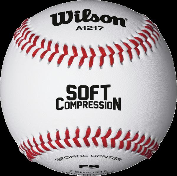 WTA1217B Soft Compression Baseball Dutzend