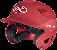 R16CFS Carbon Fiber SENIOR MATTE Adult Helmet scarlet