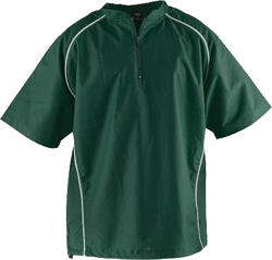 NSCJ Batting Cage Jacket Dark Green