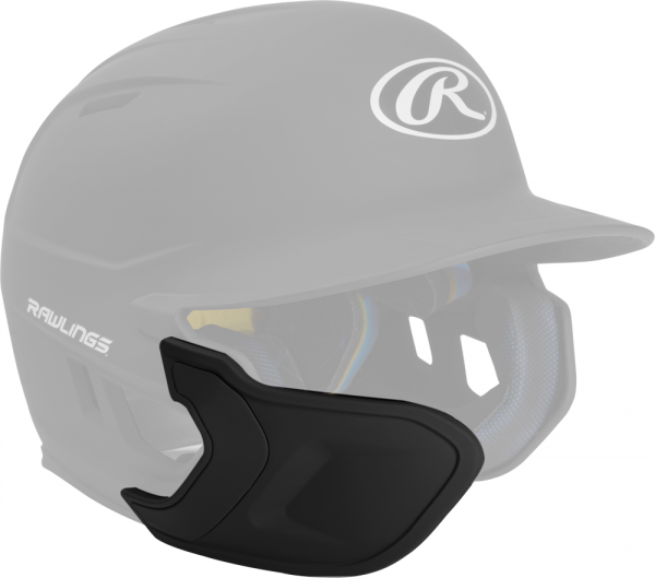 REXT-L Helmet Extension Left Handed Batter black