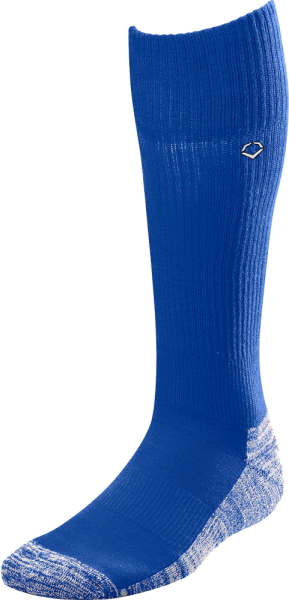 WTV4446 Solid Color Game Socks royal