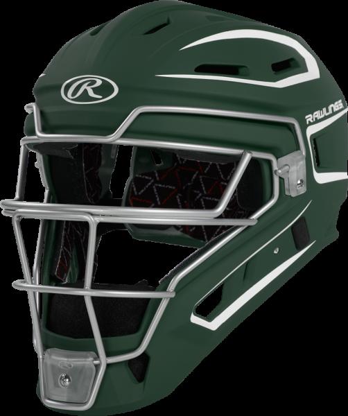 CHV27S Velo 2 Adult Headgear dark green/white