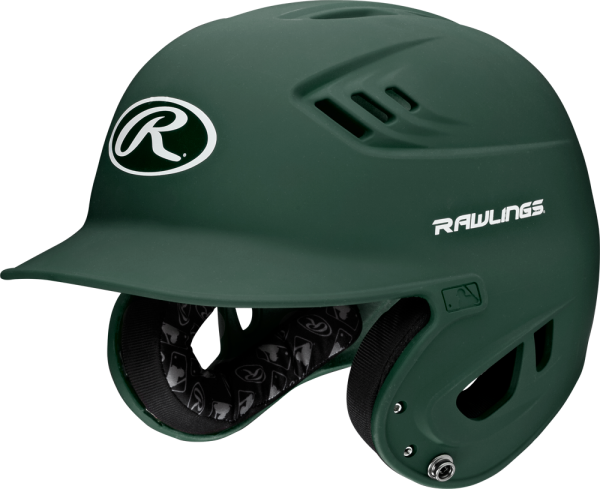 R16MS Senior Matte Adult Helmet dark green