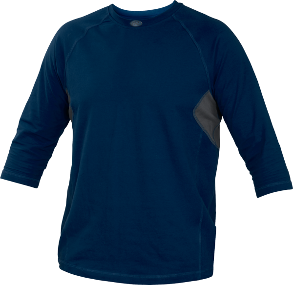 YRS34 Runner Youth Performance Undershirt navy
