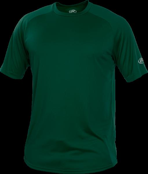YRTT Youth Shortsleeve Performance Shirt dark green