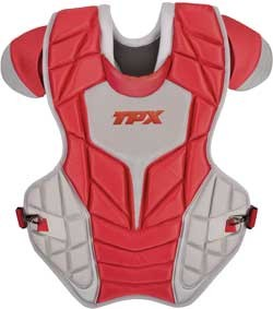 TPX Pulse Chestprotector scarlet/grey