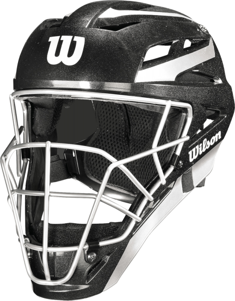 WTA5700BL Pro Stock Catchers Helmet black L/XL